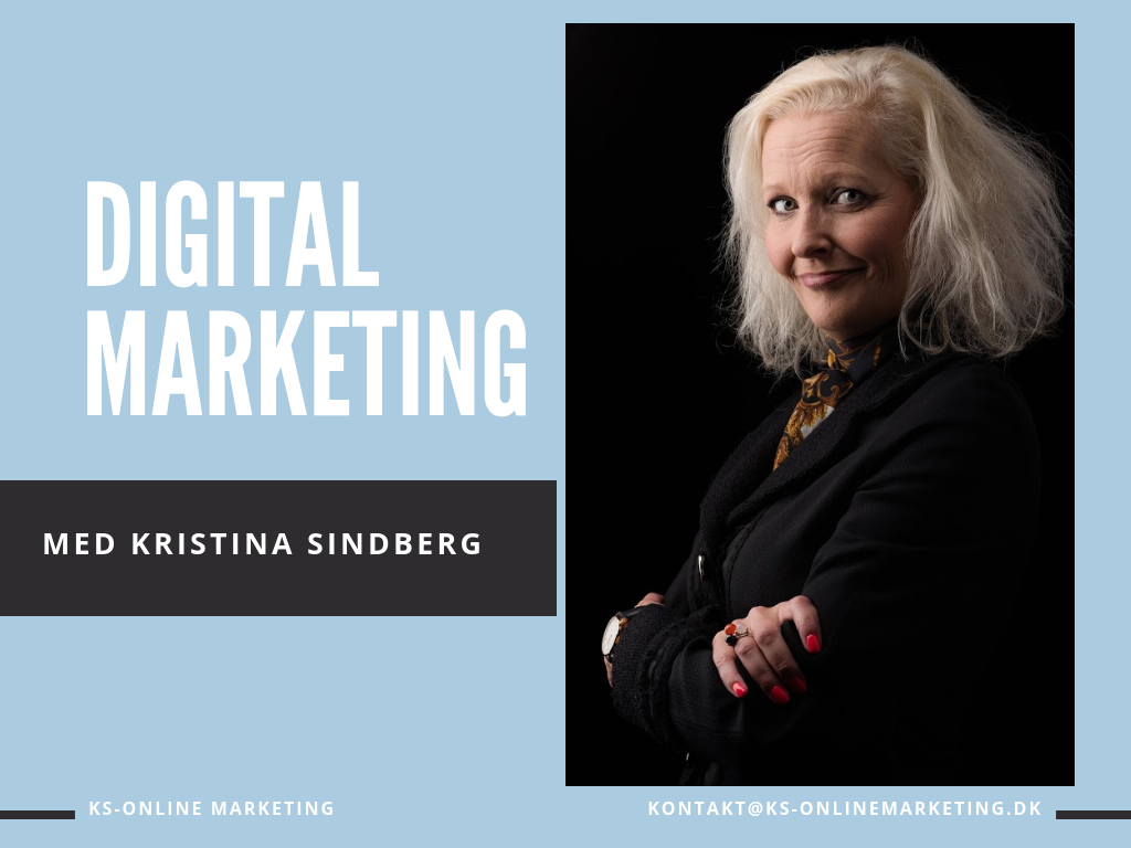 Marketing - Kristina Sindberg - KS Online Marketing - Odense - Fyn - Freelance