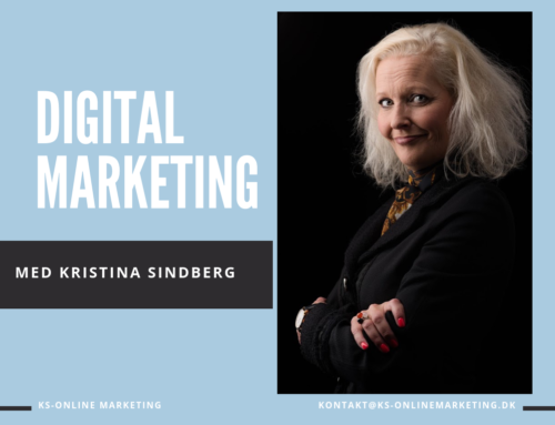 Digital Marketing Med Kristina Sindberg