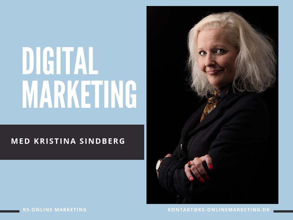 Marketing - Kristina Sindberg - KS Online Marketing - Odense - Fyn - Freelance