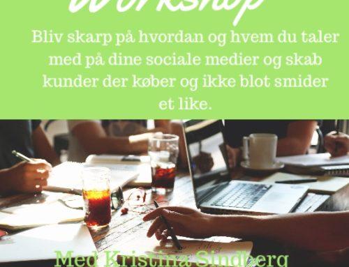 Workshop – Få Værktøjerne Og Slå Igennem På De Sociale Medier