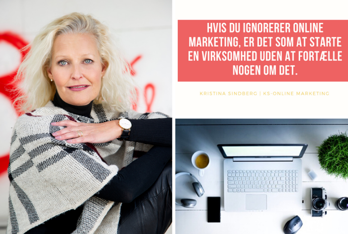 KS Online Marketing - Freelance marketing - Odense - Fyn - digital marketing specialist - Kristina Sindberg - ekspert mentor